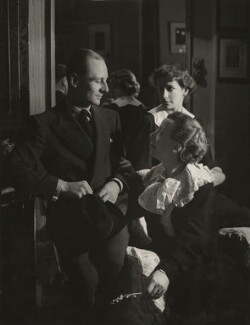 John Gielgud; Dame Edith Evans; Dame Peggy Ashcroft in 'The Seagull', by Howard Coster - NPG x1860