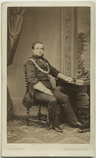 George Frederick Samuel Robinson, 1st Marquess of Ripon and 3rd Earl de Grey, by James Townsend Wigney, mid-late 1860s - NPG Ax8546 - © National Portrait Gallery, London