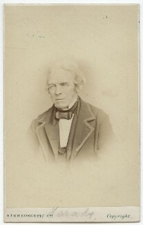 Michael Faraday, by London Stereoscopic & Photographic Company, 1860s - NPG x13931 - © National Portrait Gallery, London