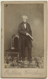Michael Faraday, by Herbert Watkins - NPG x13927