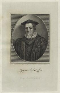 Richard Hooker, by James Fittler, after  William Skelton - NPG D25249