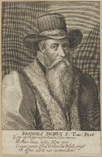 John More, by Magdalena de Passe, or by  Willem de Passe - NPG D25254