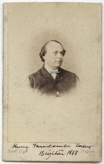 Henry Saunders Farncombe, by W. & A. White - NPG x17096