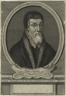 John Knox, by Étienne Jehandier Desrochers - NPG D25283