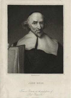 John Knox, by Benjamin Holl - NPG D25290