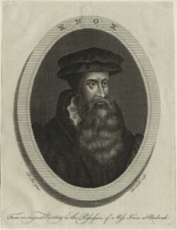 John Knox, by Thomas Trotter, after  de Vos - NPG D25291