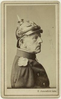 Helmuth Karl Bernhard von Moltke, Count von Moltke, by F. Jamrath & Son - NPG x74314