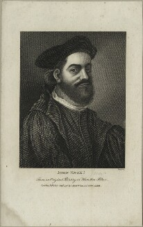 John Knox, by Thomas Trotter, published by  Robert Wilkinson - NPG D25295