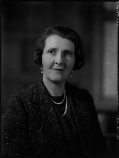 Vera Emily (née Ridley), Lady Cranworth, by Bassano Ltd - NPG x151914
