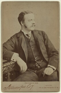 Alexander William George Duff, 1st Duke of Fife when Earl of Fife, by London Stereoscopic & Photographic Company - NPG x13979