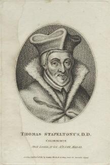 Thomas Stapleton, after Unknown artist - NPG D25302