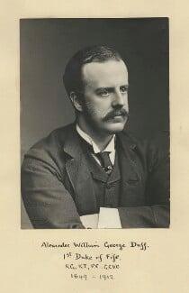 Alexander William George Duff, 1st Duke of Fife, by London Stereoscopic & Photographic Company - NPG x13980