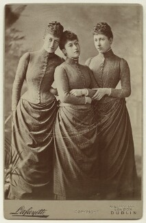 The daughters of King Edward VII, by Lafayette - NPG x36203