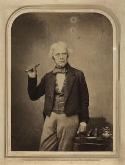 Michael Faraday, by Maull & Polyblank - NPG x13932