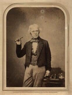 Michael Faraday, by Maull & Polyblank, 1857 - NPG x13932 - © National Portrait Gallery, London