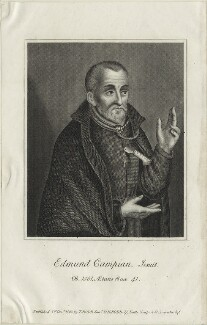 Edmund Campion, published by Thomas Rodd the Younger, published by  Horatio Rodd - NPG D25308