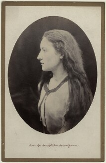 Hatty Campbell, by Julia Margaret Cameron - NPG x18035