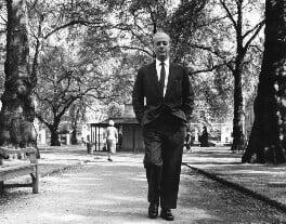 Eric Clifford Ambler, by Mark Gerson, June 1962 - NPG x88201 - © Mark Gerson / National Portrait Gallery, London
