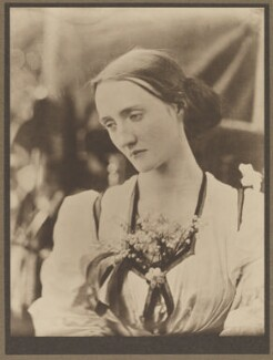 Mary Louisa Fisher (née Jackson), by Julia Margaret Cameron - NPG x18083