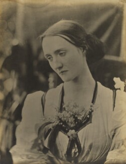 Mary Louisa Fisher (née Jackson), by Julia Margaret Cameron - NPG x18082