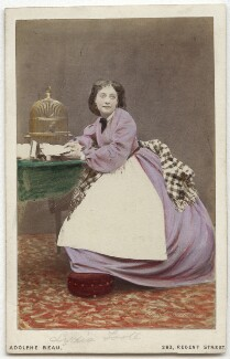 Lydia Foote (Lydia Alice Legg), by Adolphe Paul Auguste Beau - NPG x13985