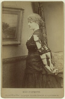 May Fortescue (née Finney), by Elliott & Fry - NPG x22238