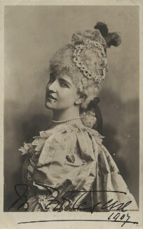 May Fortescue (née Finney), by Lafayette, published by  Rotary Photographic Co Ltd - NPG x28156