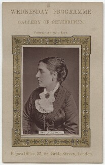 Lydia Foote (Lydia Alice Legg), published by Figaro Office - NPG x13990