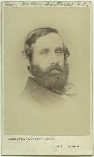 Hon. Dudley Francis Fortescue, by John & Charles Watkins - NPG Ax8586