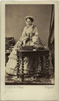 Eugénie, Empress of France, by Disdéri - NPG x74324