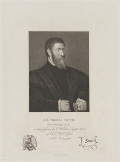 Sir Thomas Smith, by John Ogborne - NPG D25354