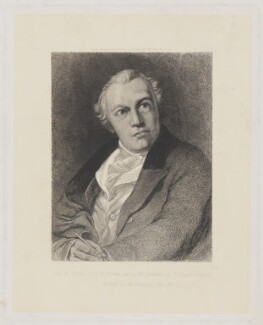 William Blake, by William Bell Scott, after  Thomas Phillips - NPG D31872
