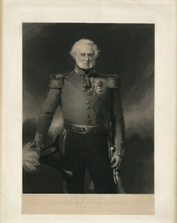 Sir Edward Blakeney, by George Sanders, after  Stephen Catterson Smith - NPG D31873