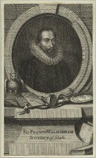 Sir Francis Walsingham, after Federico Zuccaro - NPG D25361