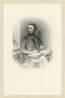 Samuel Laman Blanchard, by Samuel Freeman, after  Daniel Maclise - NPG D31875