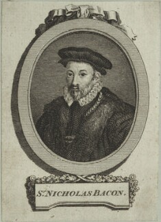 Sir Nicholas Bacon, after Federico Zuccaro - NPG D25370