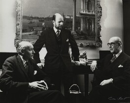 Directors of Arthur Tooth & Sons ((John) Peter Warren Cochrane; David Gibbs; Dudley William Tooth), by Ida Kar - NPG x131020
