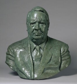 Sir Edward Heath, by Martin Jennings - NPG 6864