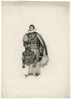 Benjamin Bloomfield, 1st Baron Bloomfield, as Keeper of His Majesty's Privy Purse at the Coronation of George IV, by Henry Meyer, after  Philip Francis Stephanoff - NPG D31893