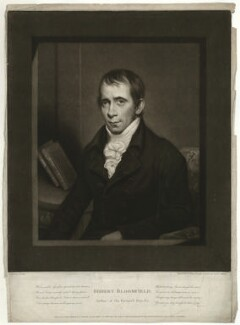 Robert Bloomfield, by John Young, after  John Rising - NPG D31894