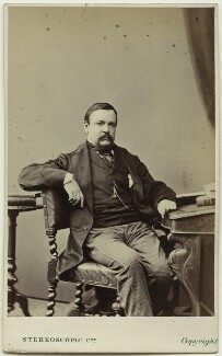 George Augustus Sala, by London Stereoscopic & Photographic Company - NPG Ax39902