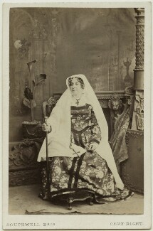 Mrs Henry Marston (Georgiana Caroline Marsh (née Noel)) as the Nurse in 'Romeo and Juliet', by Southwell Brothers, circa 1863 - NPG  - © National Portrait Gallery, London