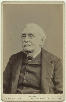 Sir Richard Strachey, by Maull & Fox - NPG x13038