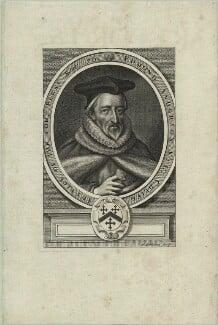 Sir Edmund Anderson, by William Faithorne, published 1664 - NPG D25375 - © National Portrait Gallery, London