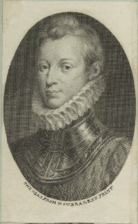 Sir Philip Sidney, by Jacobus Houbraken, after  Isaac Oliver - NPG D25386