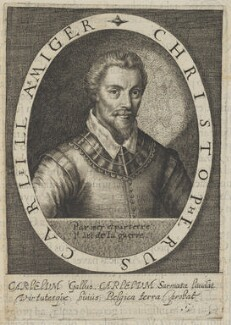 Christopher Carleill, possibly by Magdalena de Passe, possibly by  Willem de Passe - NPG D25399