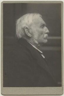 Sir Richard Strachey, by Frederick Hollyer - NPG x13039