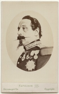 Napoléon III, Emperor of France, by London Stereoscopic & Photographic Company - NPG x17112
