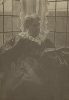Jane Maria (née Grant), Lady Strachey, by Frederick Hollyer, 1890s - NPG x13043 - © National Portrait Gallery, London