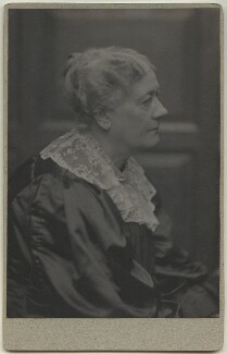 Jane Maria (née Grant), Lady Strachey, by Frederick Hollyer - NPG x13045